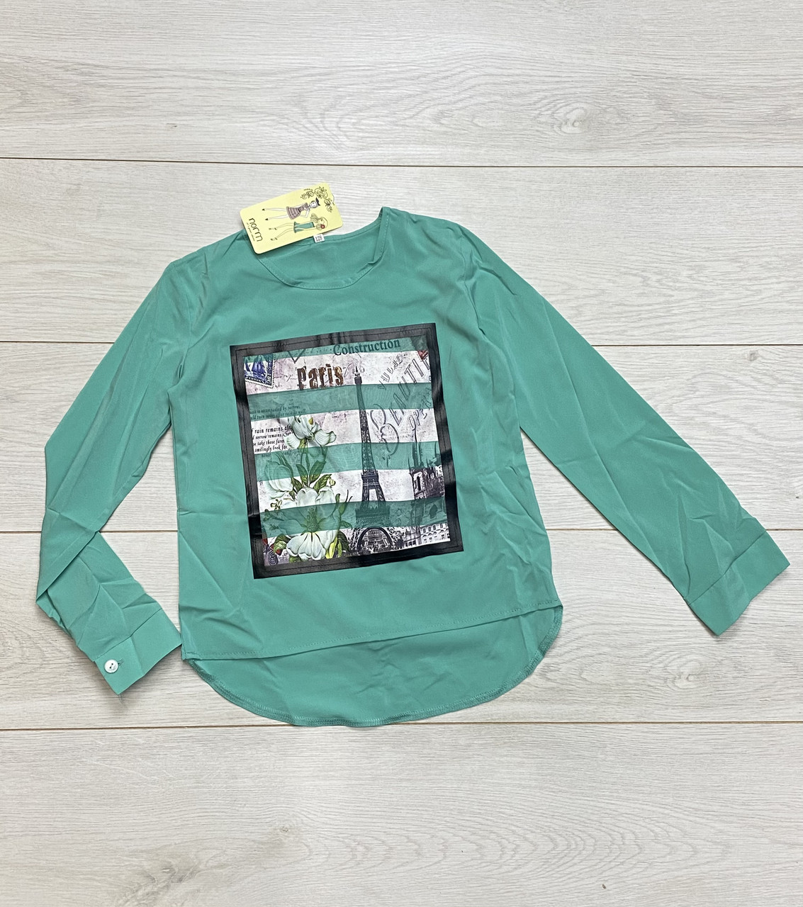 Блузка для дівчаток (Тканина-софт). 128 - 164 зростання.