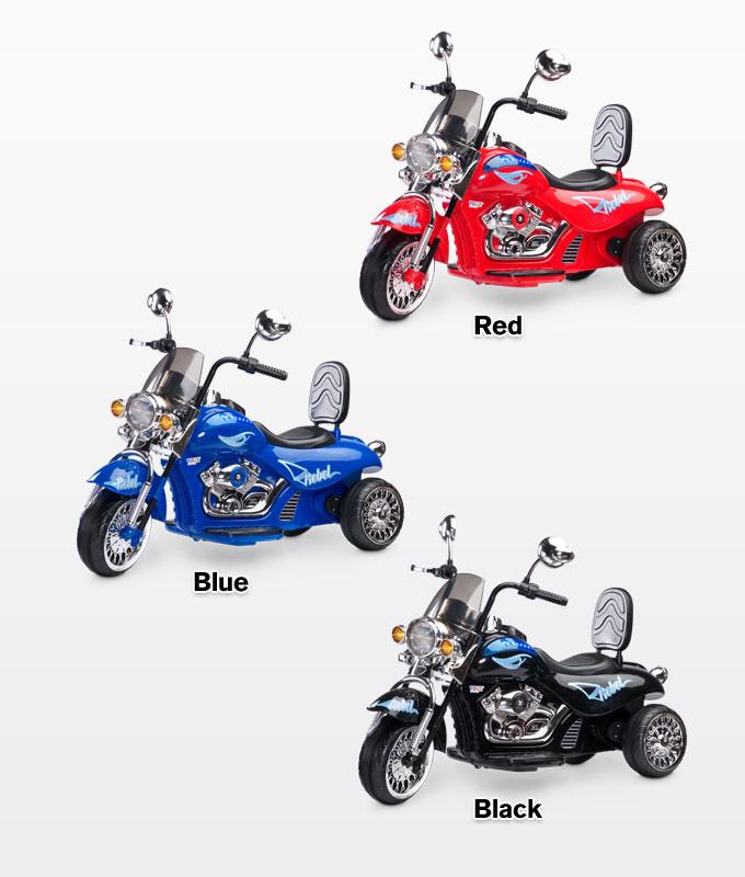 Електромотоцикл Caretero (Toyz) Rebel