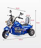 Електромотоцикл Caretero (Toyz) Rebel, фото 5