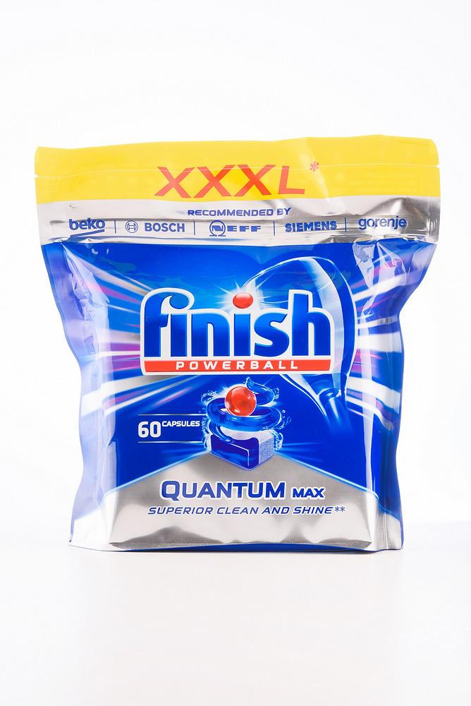- Finish Quantum Max капс. д/посуд.миюч. машин (5*60*15,5гр) Regular