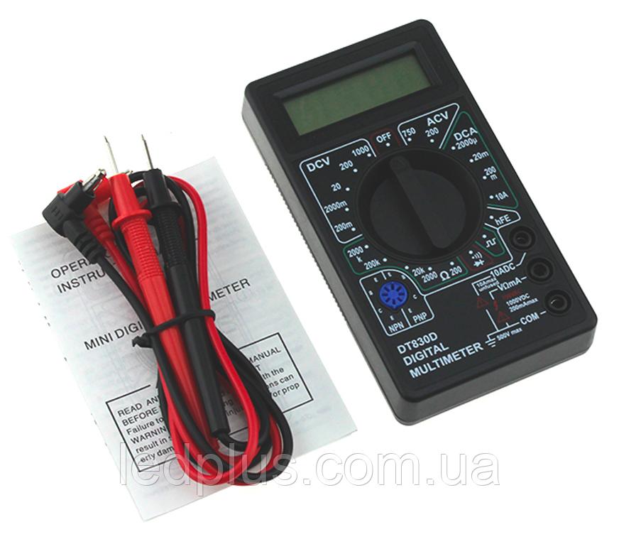Мультиметр DT830D