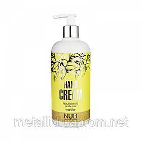 Питательный крем для рук NUB Nourishing Hand Cream Vanilla, ваниль, 500 мл