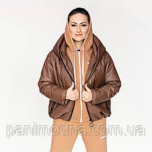 """Женская куртка «Санта-эко Кожа"""""""