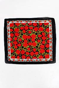 Бандана FAMO Дакота чорна+червона 55*55 #L/A