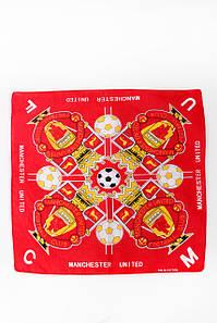 Бандана FAMO Манчестер червона 55*55 #L/A