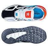 Чоловічі кросівки adidas ZX 2K Boost Blue whate, фото 10