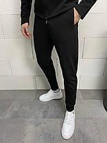 Мужской спортивный костюм черного цвета, фото 3