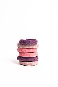 Гумка для волосся FAMO Набір безшовних гумок Брі різнобарвний 3 One size (5-7599) #L/A