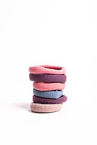 Гумка для волосся FAMO Набір безшовних гумок Брі різнобарвний 4 One size (5-7599) #L/A