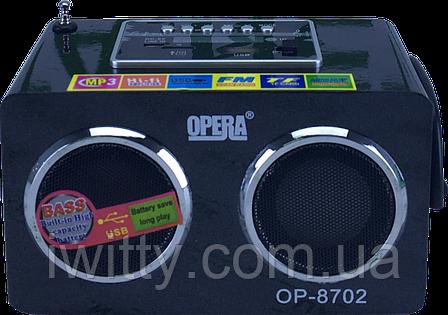 Портативна колонка Opera OP-8702, фото 2