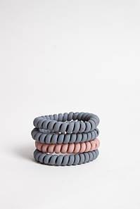 Гумка для волосся FAMO Набір резинок Вікі різнокольорові 4 One size (5-7607) #L/A