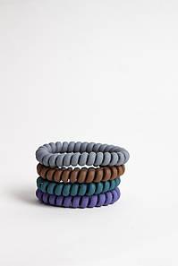 Гумка для волосся FAMO Набір резинок Вікі різнокольорові 3 One size (5-7607) #L/A