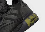 Чоловічі кросівки adidas ZX 2K Boost Black Light Green, фото 8