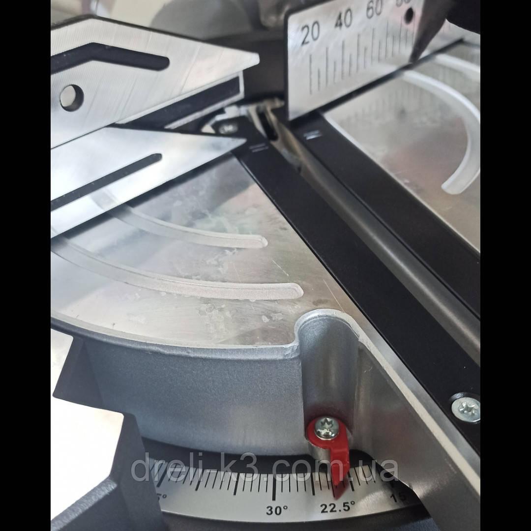Торцовочная пила с протяжкой Metabo KGS 216 M Laser Led 619260000 - фото 2
