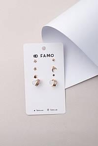 Набор кафф FAMO NKAF-21004 Золотистый 2,2*1 (NKAF-21004) #L/A