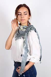 Платок FAMO -косынка Селия серый (S340) Длина 135(см)/ Ширина 65(см) #L/A