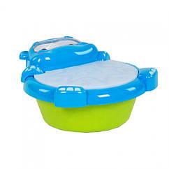 Дитячий музичний барабан 2209-10 світло, звук (Синій)