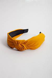 Обруч FAMO Чалма Джоан желтый 42*5 (5-6767) #L/A