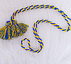 Патриотический  плетеный пояс