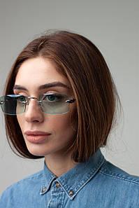 Имиджевые очки FAMO Очки имиджевые S31528 бирюзовые Общая ширина 14(см)/ Высота линзы 4(см)/ Ширина линзы