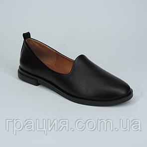Кожаные женские модные туфли, мягкие, удобные