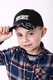 Модная бейсболк для мальчика сетка разные цвета возраст от 5 до 8 лет, фото 4