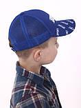 Модная бейсболк для мальчика сетка разные цвета возраст от 5 до 8 лет, фото 8