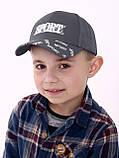 Модная бейсболк для мальчика сетка разные цвета возраст от 5 до 8 лет, фото 7