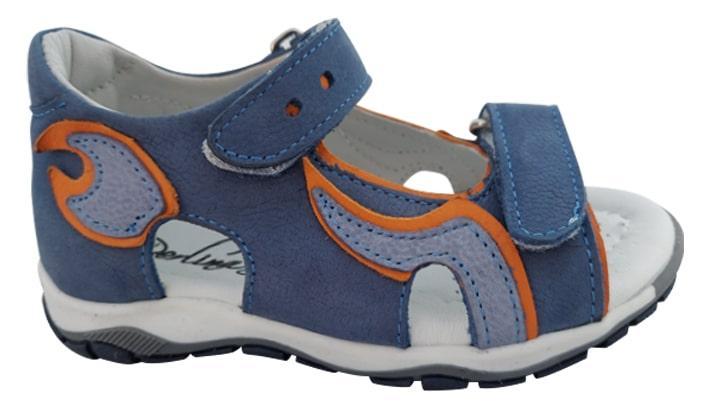 Босоножки Perlina 113golorange синий