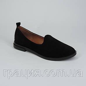 Женские замшевые модные туфли, мягкие, удобные.