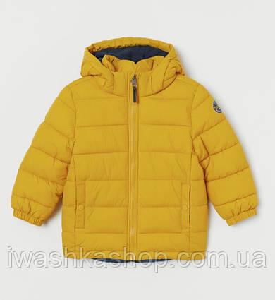 Водоотталкивающая куртка еврозима на мальчика 3 - 4 лет, 104 р. H&M