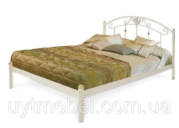Ліжко Монро 1600х2000 білий (Метал Дизайн)