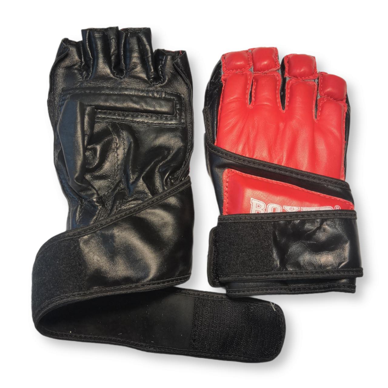 Перчатки Каратэ XL кожа, красные BOXER