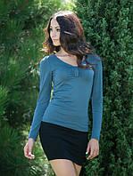 Красивый пуловер со стразами (S, M)