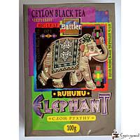 Черный чай Battler tea «RUHUNU Elephant OP1» 100г