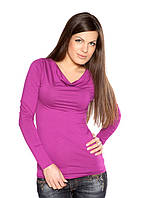 Яркий женский пуловер (S, M)