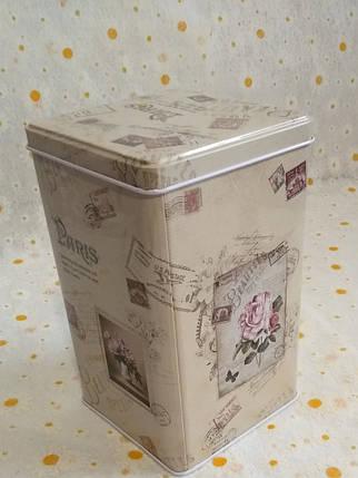 Коробка металл 17*10.6*10.6 см, фото 2