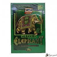 Зеленый чай Battler tea «Green Elephant» 100г