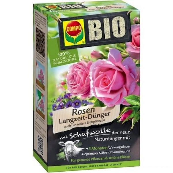 BIO добриво довготривалої дії для троянд 750 г, Compo