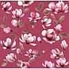 Обои бумажные Эксклюзив 069-10 темно-розовый