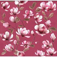Обои бумажные Эксклюзив 069-10 темно-розовый, фото 1