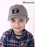 Детская кепка с сеткой Brawl Stars Бравл стар размер 52 на 3 - 6 лет, фото 6