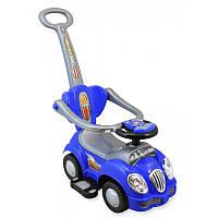 Машинка-каталка Alexis-Babymix HZ-558 голубая