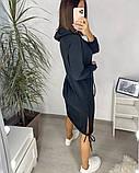 Сукня в спортивному стилі з капюшоном 46-450, фото 9
