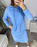 Сукня в спортивному стилі з капюшоном 46-450, фото 5