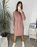 Сукня в спортивному стилі з капюшоном 46-450, фото 4