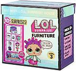 Роллердром Ролер-Леді Ігровий набір Стильний інтер'єр з лялькою L. O. L. Surprise! серії Furniture S3 567103, фото 6