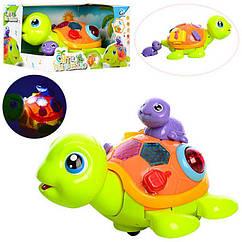 Музична іграшка черепаха 2088 зі світловими ефектами