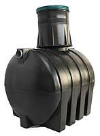 Септик полиэтиленовый однокамерный Эколайн , 1500 Литров (Украина)