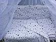 """Дитяче постільна білизна в ліжечко з балдахіном 9в1 """"Ведмедики і соти"""" - 9 предметів / Захист в манеж, фото 4"""